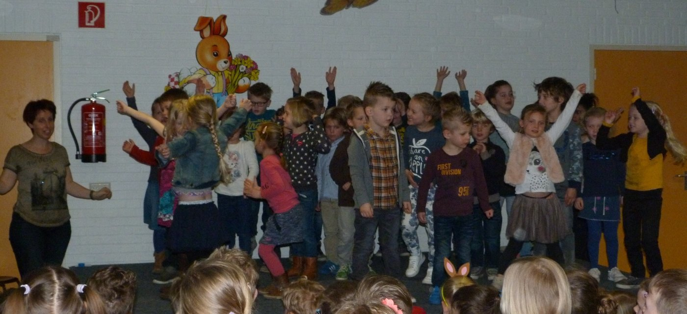 Paasfeest op de Prinses Beatrixschool